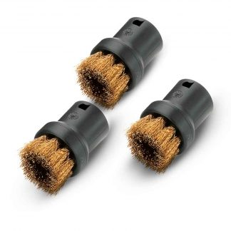 ROUND BRUSH KIT WITH BRASS BRISTLES