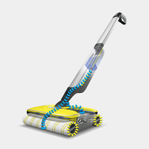 Washes 20% cleaner than traditional mop - without the hassle