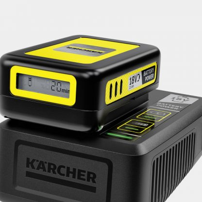 QUICK CHARGER BATTERY POWER 18 V